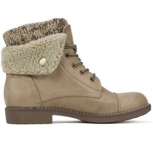 White Mountain Shoes - 🆕 CLIFFS BY WHITE MOUNTAIN  Duena Lace Up Boot-10